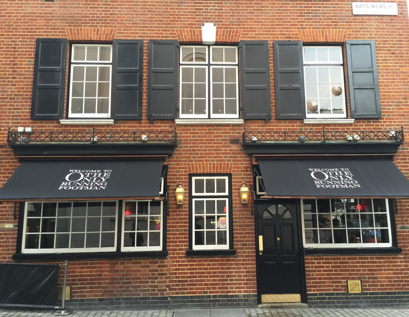 The Only Running Footman pub image 1