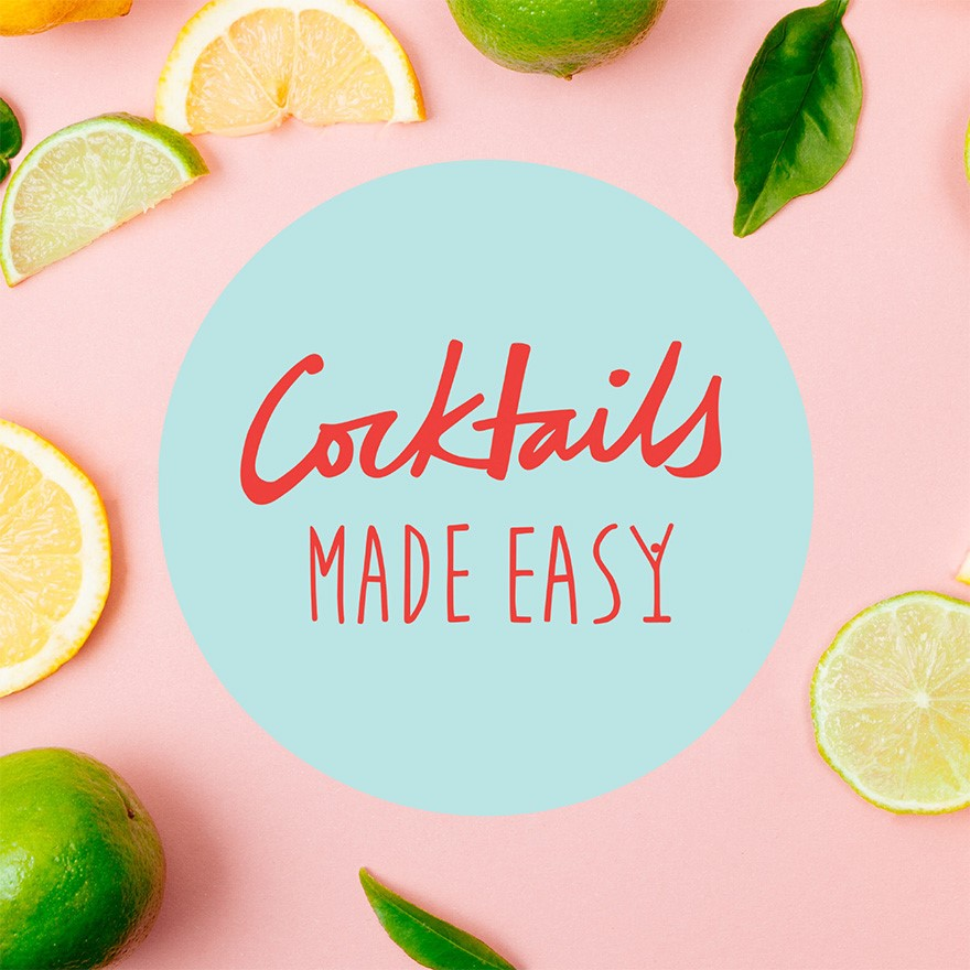 Making cocktails at home