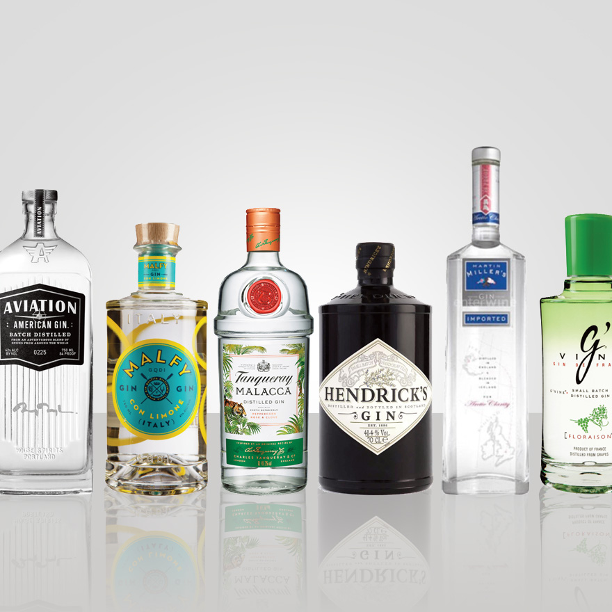New Western dry gins image