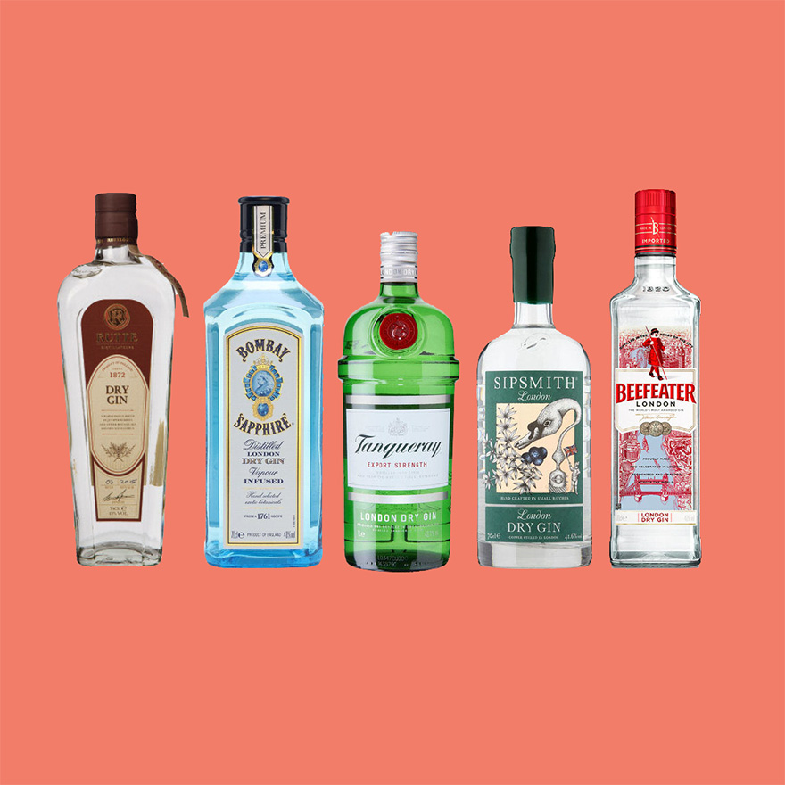 Gin cocktails image