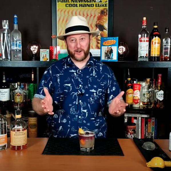 A Seinfeld-inspired cocktail image