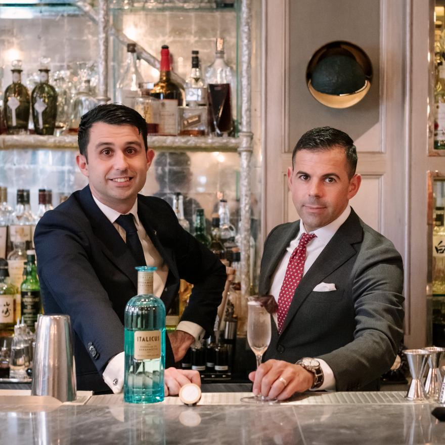 Giorgio Bargiani & Ago Perrone, The Connaught Bar image