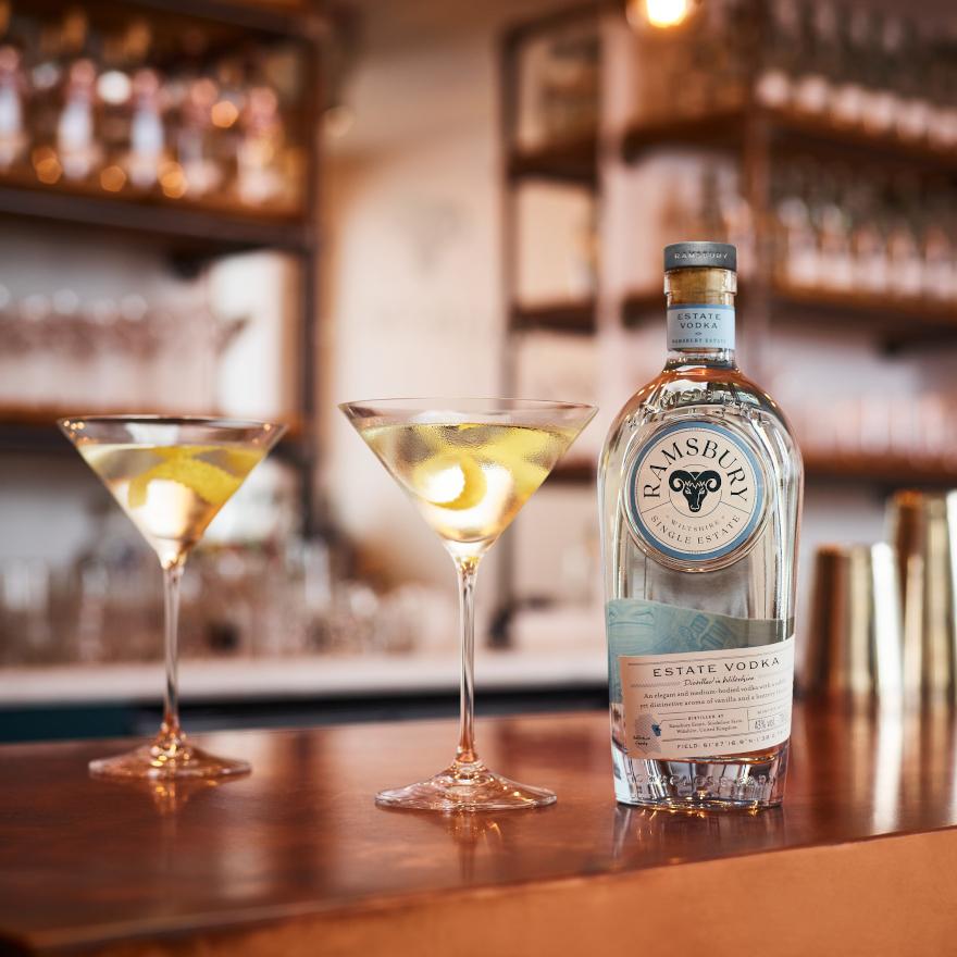 Ramsbury's Vodka Martini image