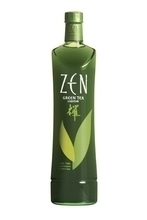 Green tea liqueur