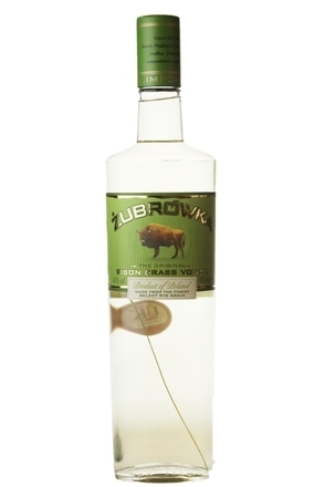 Zubrowka Bison Grass Vodka image