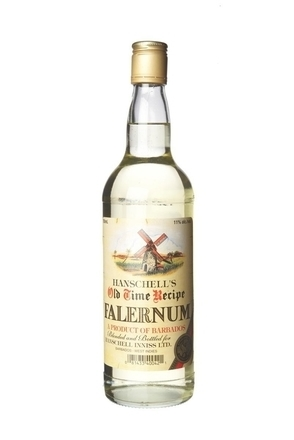 Hanschell's Old Time Recipe Falernum