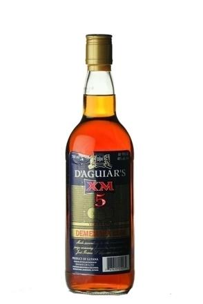 Banks D'Aguiar's XM 5yo Demerara Rum image