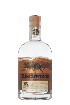 Blackwood's Vintage Dry Gin 60 Limited Edition