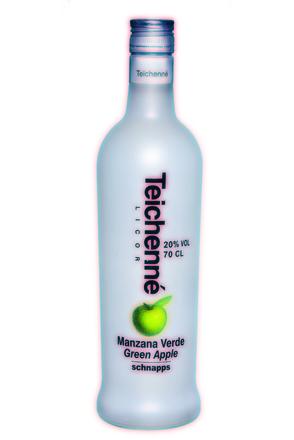 Teichenné Manzana Verde/Green Apple Schnapps image