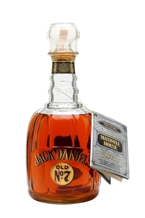 Jack Daniel's Maxwell House Commemorative Bottle