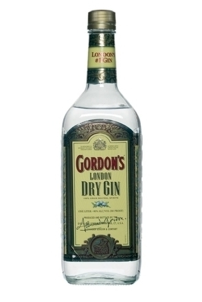 Gordon's Special London Dry (UK 40% Yellow Label) image
