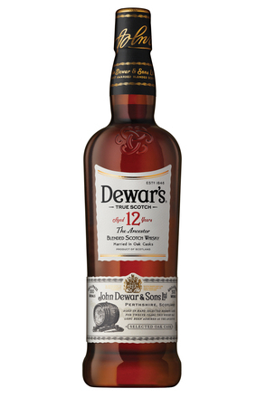 Dewar's 12 Year Old Scotch whisky image