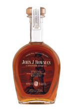 John J. Bowman Single Barrel straight Bourbon