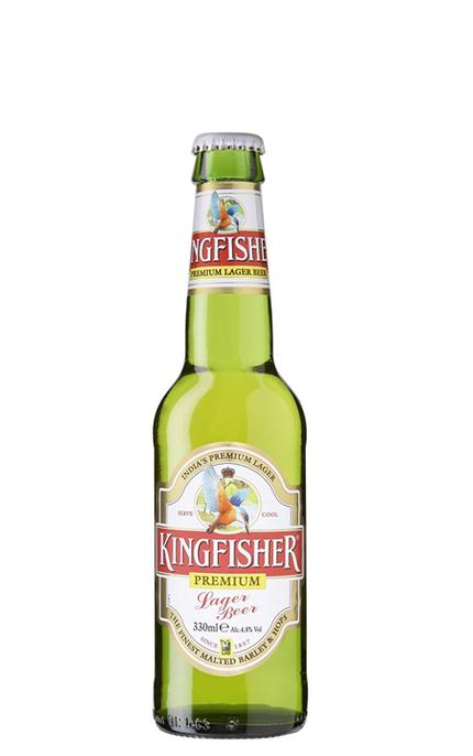 Kingfisher Premium Lager Beer Uk Brewed