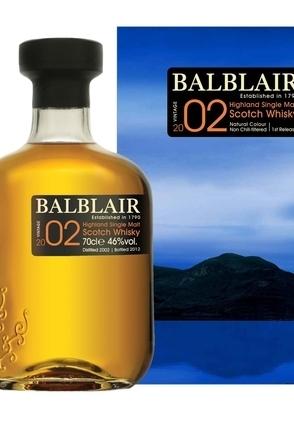 Balblair 2002 (1st Release) Bottled 2012 image