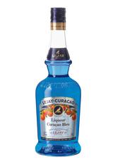 Blue curaçao liqueur image