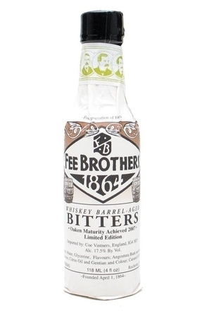 Fee Brothers Whiskey Barrel Aged