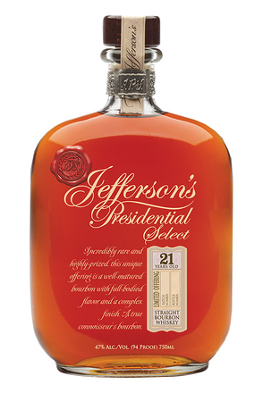 Jefferson's Releases Presidential Select 21 Year