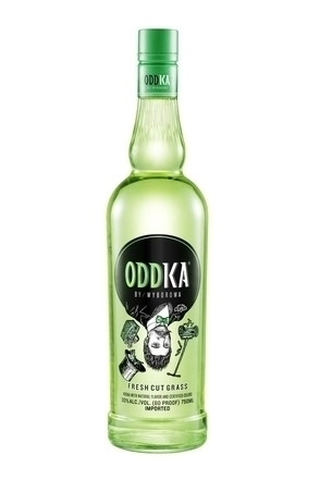 ODDKA by Wyborowa Fresh Cut Grass
