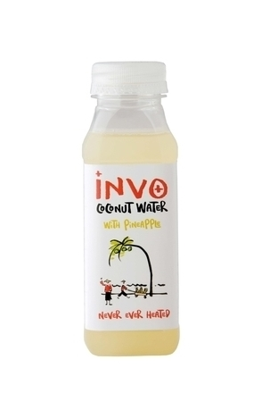 Invo Coconut Water with Pineapple image