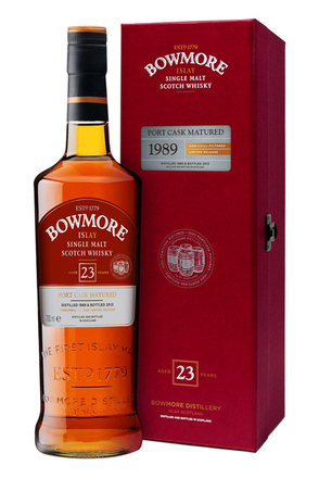 Bowmore 23 Years Old Port Cask Matured 1989 image