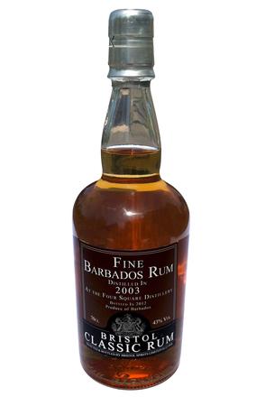 Bristol Classic Rum Finest Barbados 2003