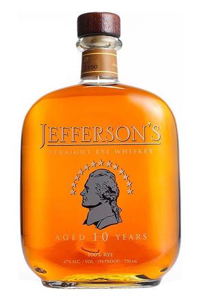 Jefferson's 10yo Rye
