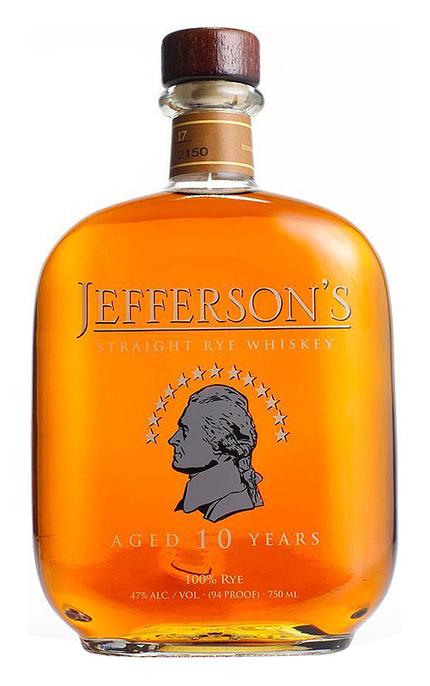 4b0032318f6 Jefferson s 10 Year Old Straight Rye Whiskey