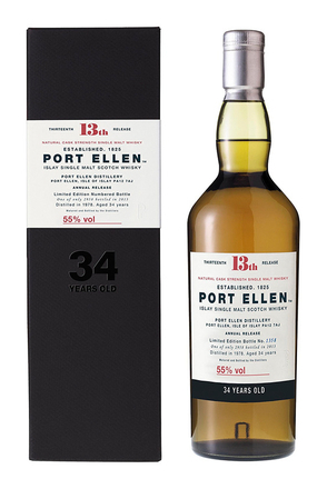 Port Ellen 34 Year Old, Distilled 1978