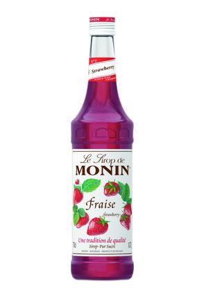 Monin Strawberry Syrup image