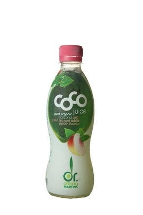 Coco Pure with Green Tea & White Peach image