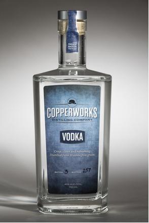 Copperworks Vodka image