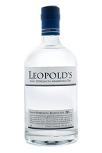 Leopold's Navy Strength Gin image