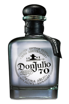 Don Julio 70th Anniversary Anejo Crystal Claro