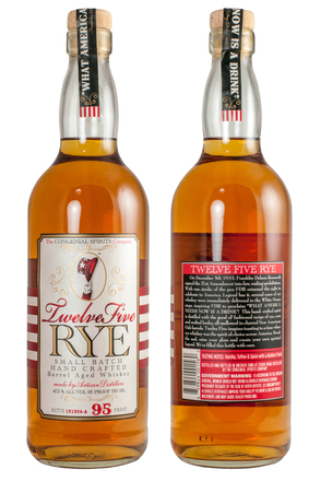 Twelve Five Rye Whiskey image