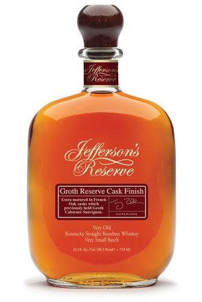 Jefferson's Reserve Groth Reserve Cask Finish