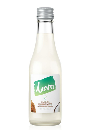 Lovo Sparking Coconut Water and Vodka image