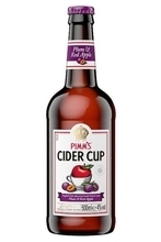 Pimm's Cider Cup Plum & Red Apple