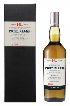 Port Ellen 16th Release, 37 Year Old image