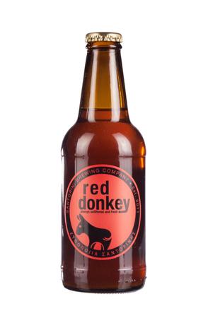 Santorini Red Donkey image