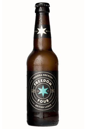 Freedom Four British Lager image