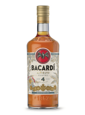 Bacardi 4 year old gold rum
