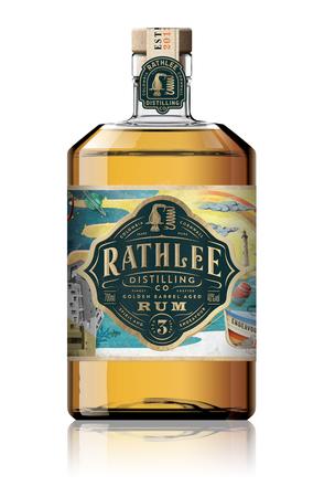 Rathlee Golden Barrel Aged Rum image