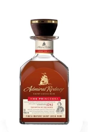 Admiral Rodney HMS Princessa Rum