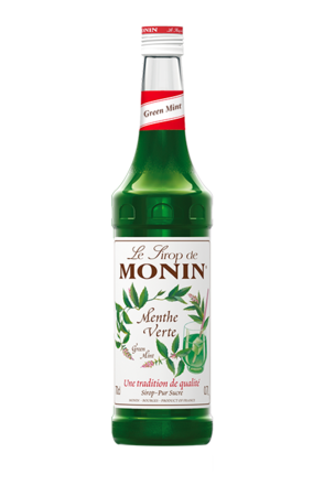 Monin Green Mint Syrup image