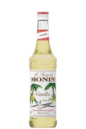 Monin Vanilla Syrup image