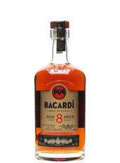 Bacardi 8 year old rum