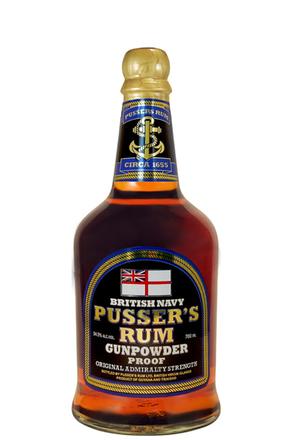 Pusser's Navy Rum (54.5%) image