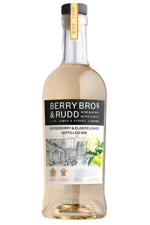 Berry Bros. & Rudd Gooseberry & Elderflower Gin image