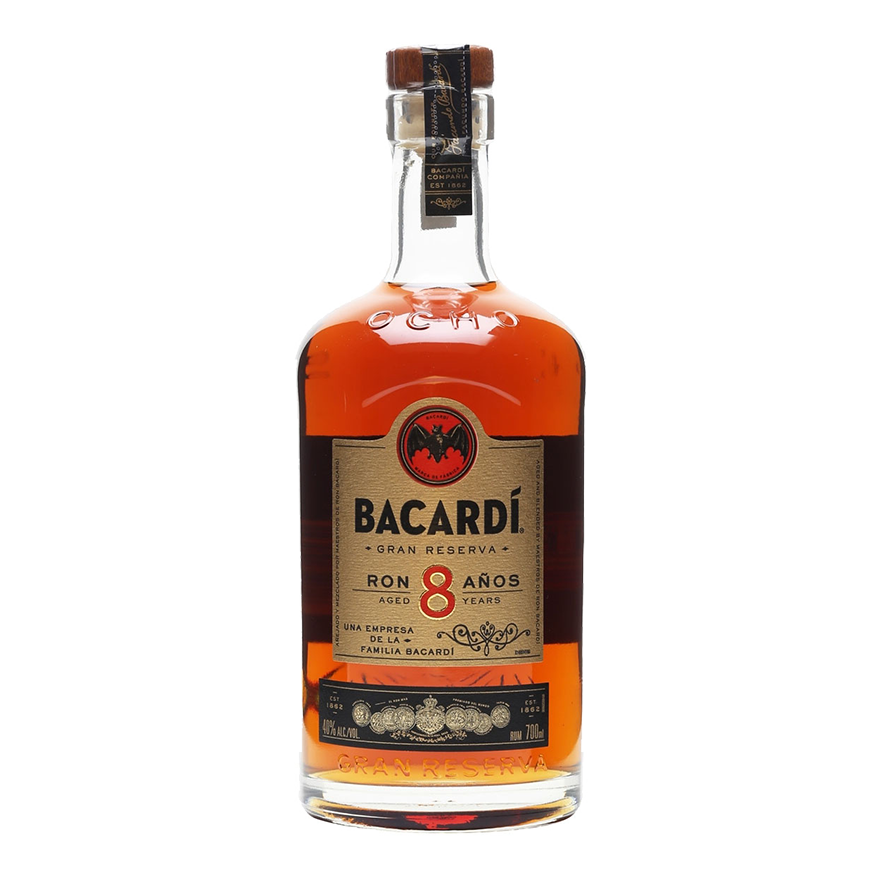 Bacardi Carta Ocho aged rum image